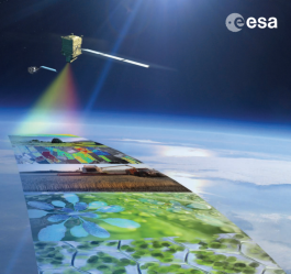 FLEX: an Earth Explorer to observe vegetation fluorescence (picture by ESA)