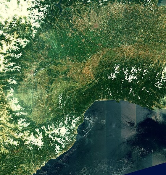 First Sentinel-2 image